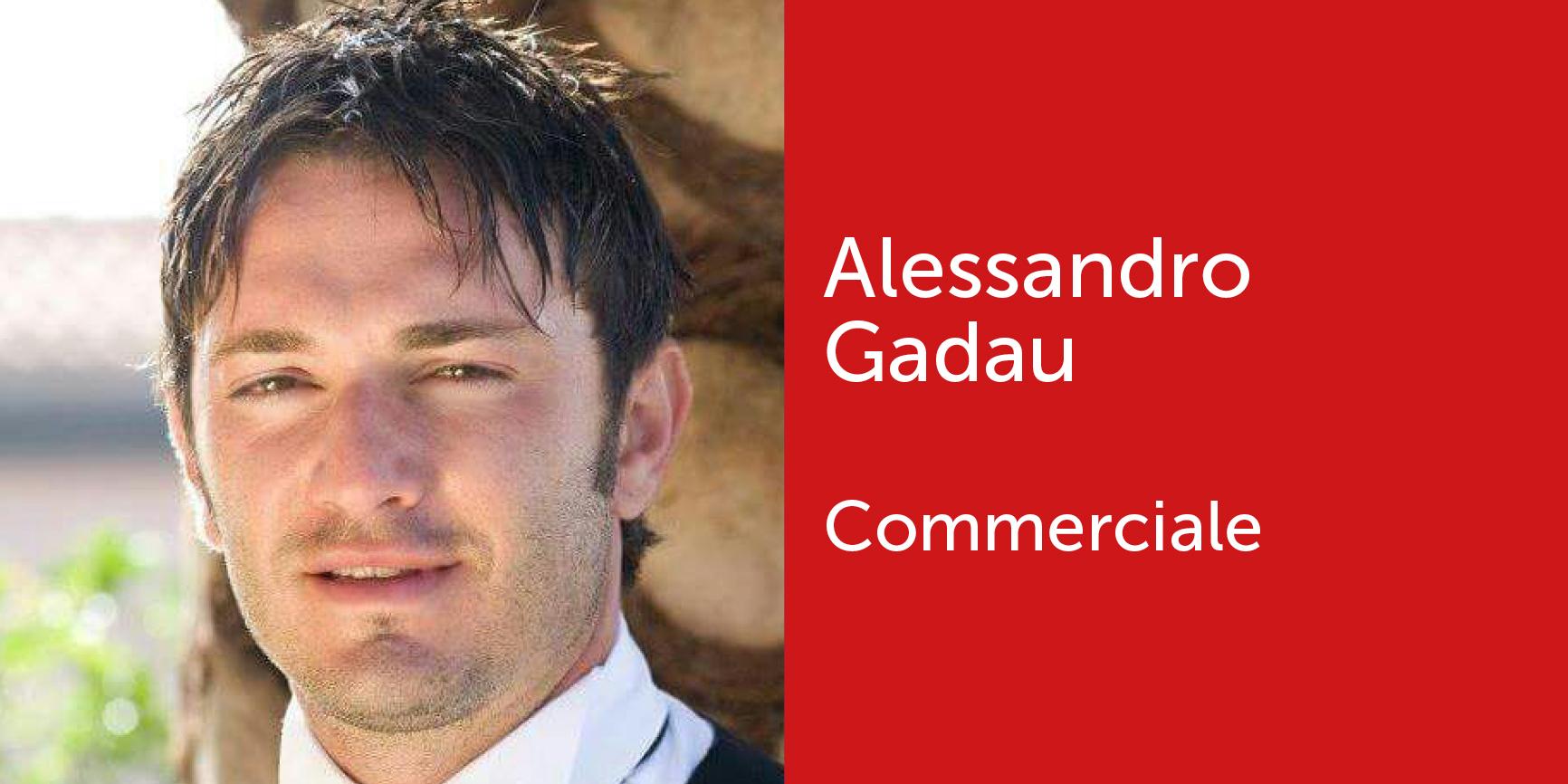 Alessandro Gadau - Commerciale